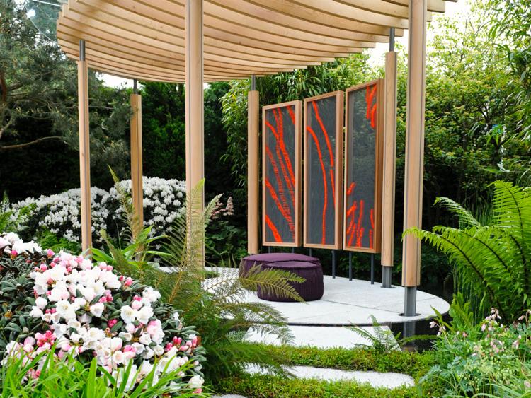 Anna Glasbrook 'Chelsea Flower Show Homebase Garden'