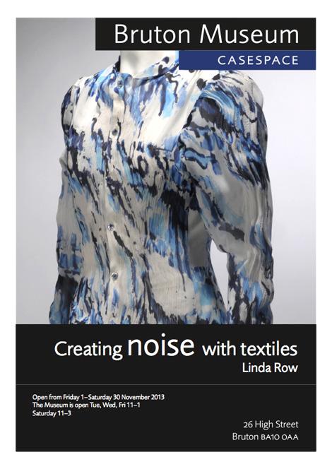 Linda Row Bruton Museum casespace poster