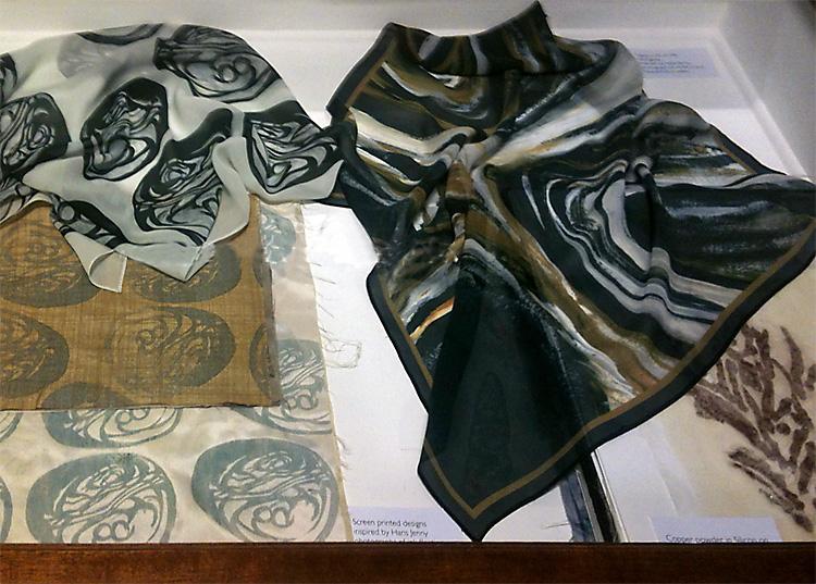 Linda Row Vortex scarves
