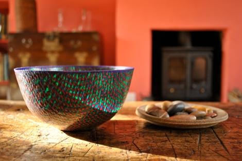 Samon Yechi handmade plastic bowl
