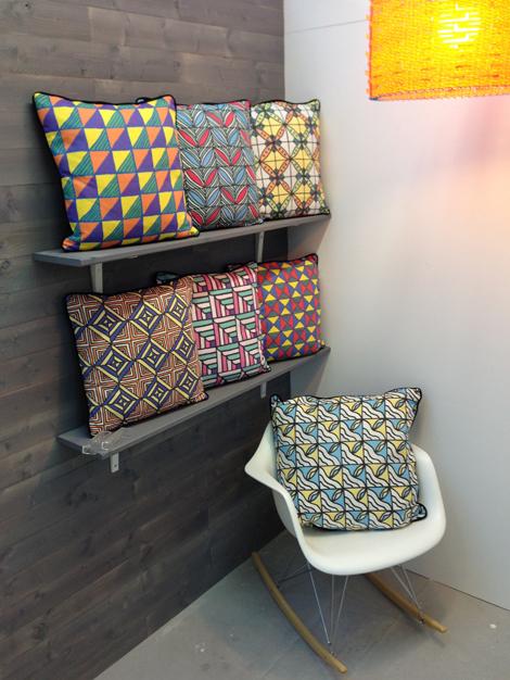Samon Yechi 'Adinkra' cushions