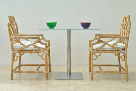 SAMON YECHI handmade plastic bowls