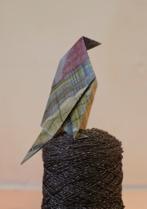 Origami bird 5