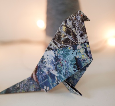Origami bird 3