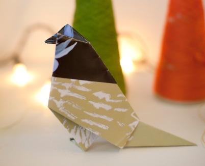Origami bird 2