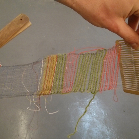 weaving with the rigid heddle