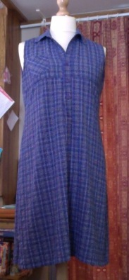 Debra Counsell, Bath, UK, 2015 - I love this dress as it can be styled up or down. It always fits. It looks great with a denim jacket and converse or with a jacket and heeled sandals.