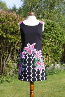 Julie Heaton, 2015, Bristol - This dress is my favourite shift because it makes me feel really happy when I wear it.