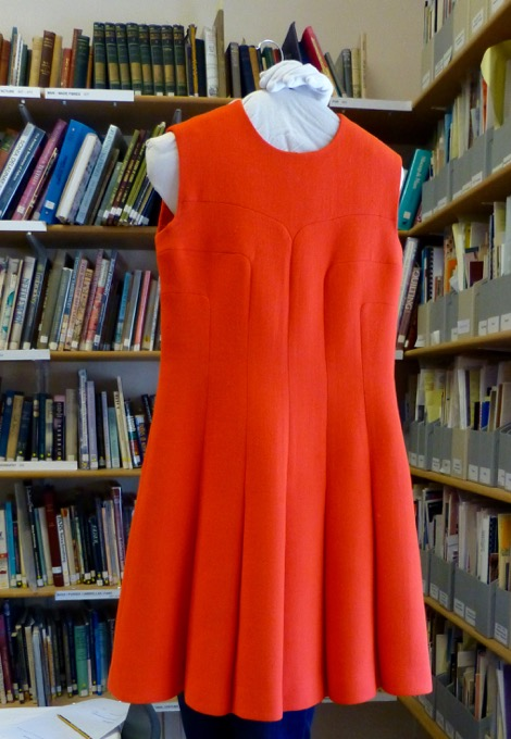 Rocha 1968/9 woven wool dress (#1.09.638 Courtesy of the Fashion Museum, Bath & North East Somerset Council)