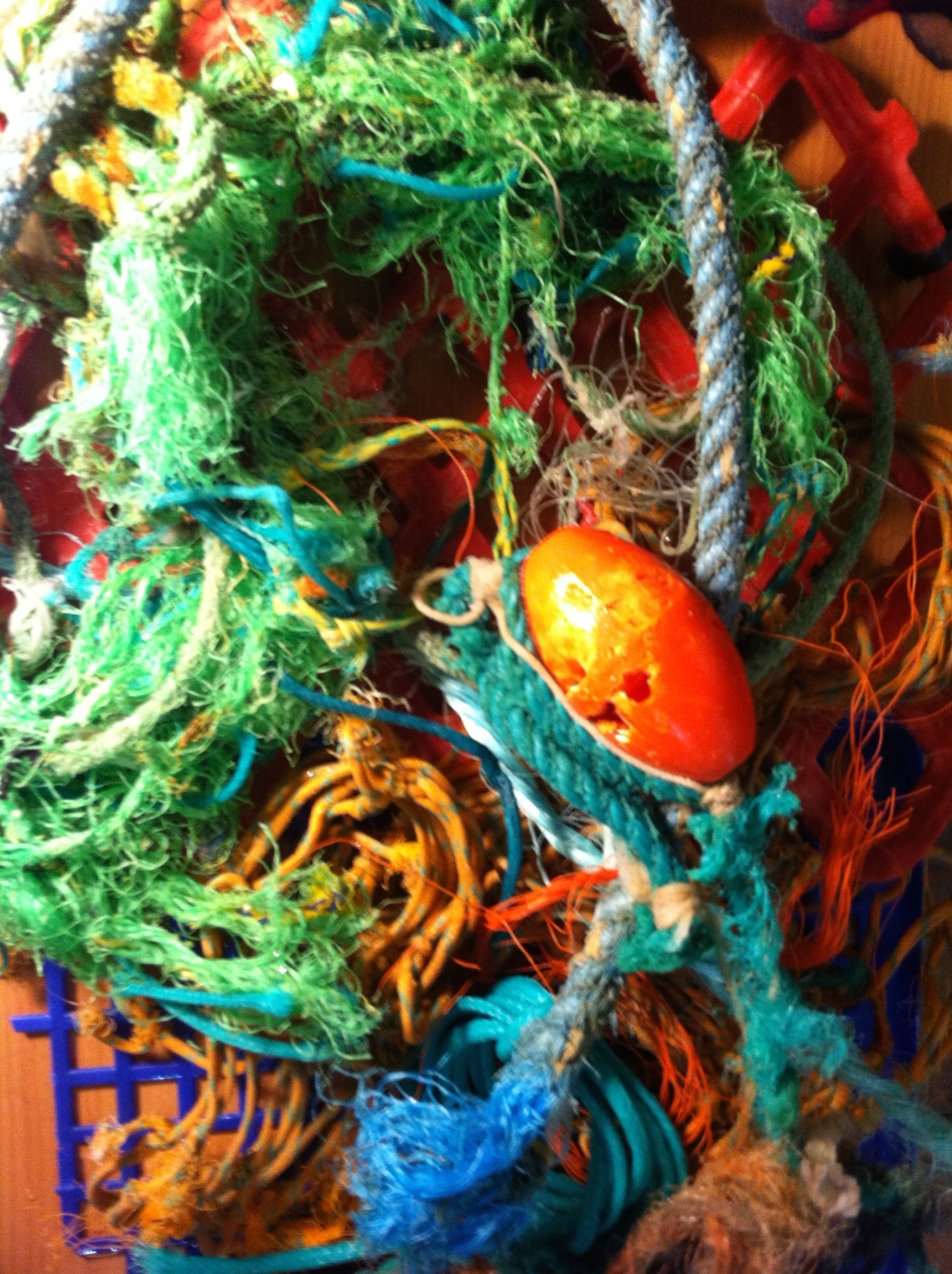 Beach plastics found in Cornwall