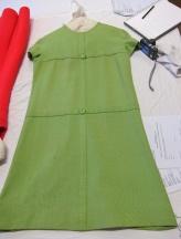 BATMC I.09.884. Nina Ricci, 1967, silk in plain weave (also has a separate coat).