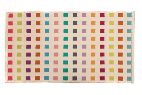 Angie Parker 'Montellemar' rug (reverse)