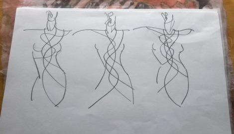 Linda Row Shift sketch 2 Seam