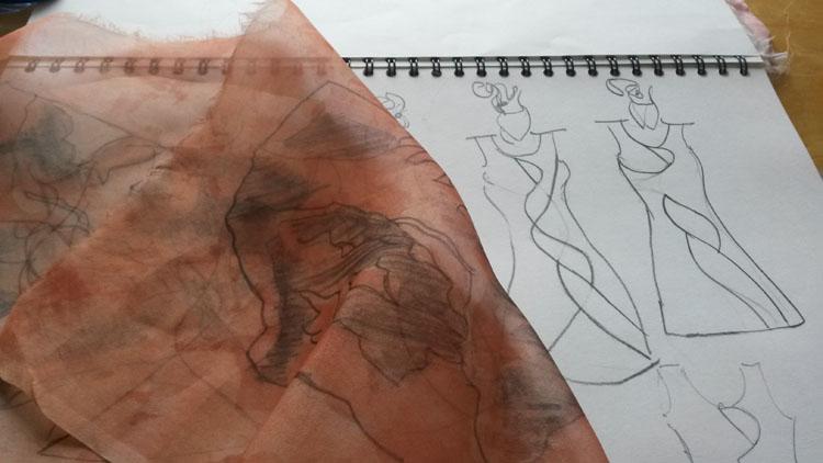 Linda Row Sketch 2
