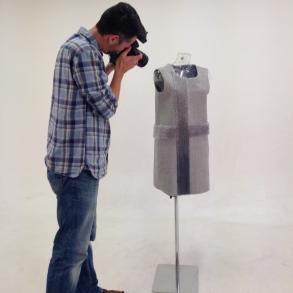 Tufted dress front - photo credit Jefferson Studios