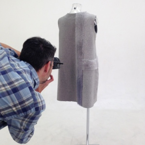 Tufted dress back - photo credit Jefferson Studios