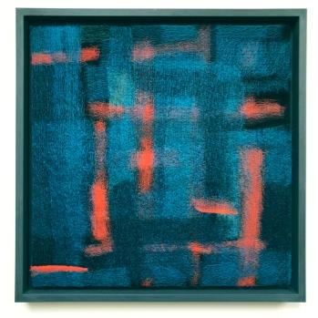 Gill Hewitt, 'Kingfisher', 45 x 45cm
