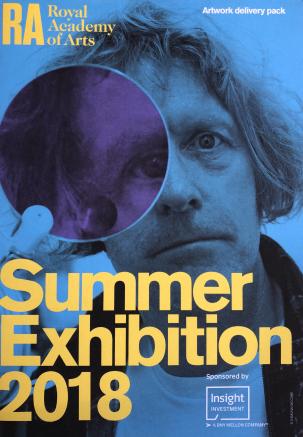 Summer Exhibition 2018 flyer