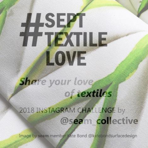 #SeptTextileLove teaser image by Kate Bond