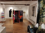 Extremely Textiles exhibition with work by Joy Merron, Julia Penrose, Gill Hewitt and Kate Bond