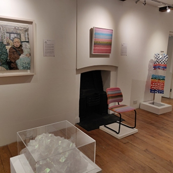 Extremely Textiles exhibition with work by Julie Heaton, Angie Parker and Joy Merron