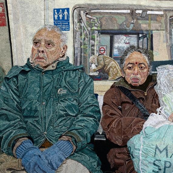 A Couple on the Tube